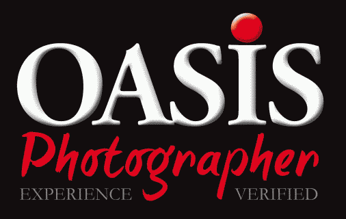 Marchio di qualità Oasis photographer experience verified