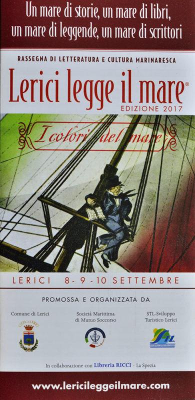Rassegna Lerici legge il mare edizione settembre 2017